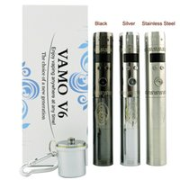 vamo kit - New Vamo V6 kits Electronic Cigarette Vamo V6 E Smoking Mechanical Mod variable voltage battery with Power Bank function