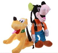 stuffed animals - Hot Selling cm Plush Toys Plush Animals Pluto And Goofy Stuffed Animals Super Quality Popular Toys