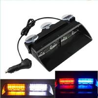 amber led strobe - S2 Viper Federal Signal High Power Led Car Strobe Light Auto Warn Light Police Light LED Emergency Lights V Car Front Light Car Lamp
