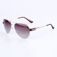 sunglasses in bulk - Discount Aviators Polarized Sunglasses For Women Metal Frame UV400 Lenses Womens Pilot Glasses Shades Eyewear Deals in Bulk