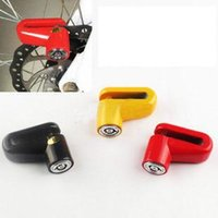 bicycle disk brakes - Whole Sale Scooter Bike Bicycle Motorcycle Safety Anti theft Disk Disc Brake Rotor Lock wth keys