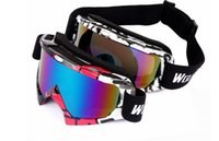 Wholesale New Ski Skiing Snowboard Goggles Outdoor Sports Eyewear Windproof Dustproof Snow Glasses Bicycle Motorcycle Goggles