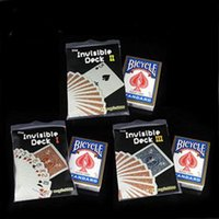 Wholesale The Invisible Deck I II III select only one deck Eragon Card Magic Tricks magia magie toys retail and