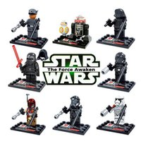 Wholesale Star Wars The Force Awakens types Minifigures Kylo Ren Building Block Set Models Action Figures Toys For Children Kids Gift