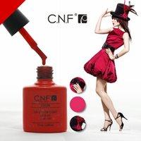 Cheap 10pcs lot,CNF Nail Gel Polish top quality Sets for Nail art uv soak off nail polish Keeping healthy and beauty