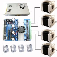 cnc stepper motor driver - TB6560 Axis Driver Nema Stepper Motor Power supply shaft CNC kit