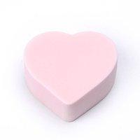 Wholesale Lovely Cute Cotton Blends Power Puff Heart Diamond Star Eye Shape Beauty Makeup Cosmetic Powder Sponge X60 JJ1010W