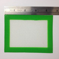 Wholesale Small Size Silicone Non Stick Pad Mat for Concentrate Dab Oil Wax BHO Shatter Errl Sticky Solutionz