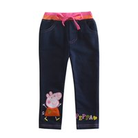 baby jeans leggings - 2015 New NOVA Kids Wear Children Pants Baby Leggings Fanshion Lovely Spring Autumn Long Pants for Baby Girls G4316