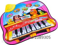 animal piano games - New Russia Baby Piano Music Educational Mat Carpet Animal Musical Touch Game Play Mat Blanket toys For Baby Kids