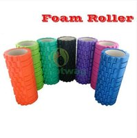 Wholesale Yoga roller Training EVA foam roller trigger point training crossfit massage roller