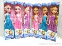Wholesale Frozen frozen ice surrounding Adventure Queen Princess ElsaAnna dolls small box