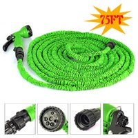 Wholesale 75FT M Expandable Magic Garden Hose Pocket Watering Hose with Spray Gun For EU US