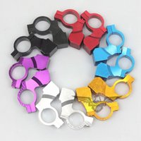 Wholesale HIGH QUALITY mm quot BAR MIRROR HOLDER MOUNT BICYCLE MOTORCYCLE DIRTBIKE SCOOTER DROP SHIPPING