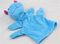 Wholesale 2015 latest baby many style cartoon animal soft plush hand plush puppets Toys hot sale story telling gift birthday gift