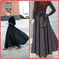 adorn m - 2015 Retro Europe And America Fashion Solid Expansion Women Skirt Big Butterfly Adorned Back Skirt Casual Dresses For Women Autumn Winter