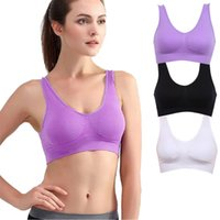 best comfort bra - w1029 Best seller Intimates Women s sexy Seamless Sports Yoga Bra Crop Top Vest Comfort Stretch Bras Lingeries