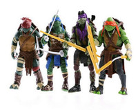 Wholesale 2015 Hot sale Teenage Mutant Ninja Turtles TMNT Action Figures Toy Set NECA Toy Teenage Mutant Ninja Turtles Toy