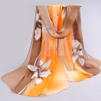 arab scarf - 2015 brand new woman scarf long arab hijab print silk chiffon scarves fashion shawl cm cm