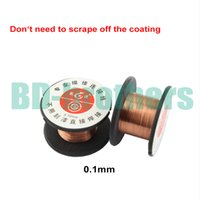Wholesale mm Copper Soldering Solder PPA Enamelled Reel Wire Line Roll Fly line Jump Wire