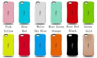 Wholesale iFace Mall Candy Color Cell Phone Case Dirtproof Protective Back Cover PC TPU Cases for Apple iPhone Plus Inch Accessories Epacket