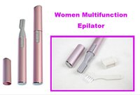 arm trimmers - Hot Sale Portable Electric Eyebrow Hair Trimmer Safe Blade Razor Shaver Remover Face Arms Legs Body Pink For Woman