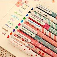 Wholesale 30 New Cute Cartoon Colorful Gel Pen Set Kawaii Korean Stationery Creative Gift School Supplies