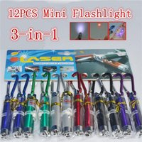 Wholesale LED Mini Flashlight Torch with Carabiner Key Chain Keychains laser pointer flashlight mini in1 Key chain Lighting Emergency Keychain Money