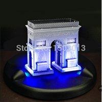 arc flashing - Christmas Gift D Metal Jigsaw ARC DE TRIOMPHE Metal Puzzle Flashing Model D Puzzles D metal works model
