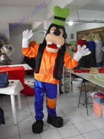 Wholesale Hot Sale Adult Goofy Dog Mascot Costume Fancy Party Dress