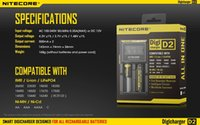 Wholesale 2015 New Nitecore D2 Digcharger Battery Charger LCD Display Nitecore Charger for