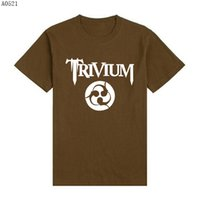 band trivium - Hot Sale Top Tees Rock Roll Band Trivium T shirts Fashion Cotton Short Sleeve T Shirts Men Many Colors Classic Tshirts