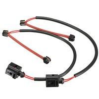 audi disc - 1 Pair Front Disc Brake Pad Wear Sensor for Audi Q7 FOR Porsche Cayenne L0907637 order lt no track