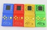 Wholesale Handheld Game Toy For Kids Tetris video games handheld game player Educational children handheld chrismas best gift