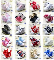 baby origin - 2015 lace girl boy slip bottom lace baby toddler shoes Flag pattern origin newborns canvas casual shoes pair CL