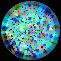 Wholesale Newest Decorative Gravel For Your Fantastic Garden or Yard pack Glow in the Dark Pebbles Stones for Walkway Eight colors