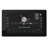 android amplifier - 7 quot touch screen In wall android amplifier home audio USB player HDMI WIFI audio digital stereo amplifier home theater system
