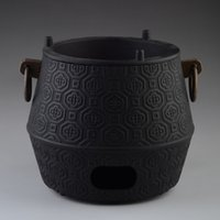 Cheap Genuine Air Furnace Water Heating Tools Carbon Charcoal Stove Diameter 14cm For Cast Iron Teapot Japanese Pot Tetsubin Drinkware
