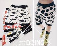 Wholesale 6pcs Shorts For Boys Shark Fox Watermelon Shorts Children Shorts For Girls Boys Harem Shorts New Girls Clothes Designer
