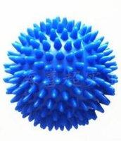 Wholesale 7 CM PVC Hedgehog Massage Ball Hand Grip Fitness Ball Portable Health Care Ball Strength Training Equipment