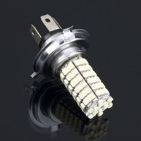 acura auto sales - Hot Sale H4 LED SMD Pure White Car Auto Light Source Headlight Fog Driving Lamp Bulb DC12V New Dropping Shipping