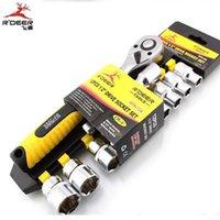 Wholesale HK R DEER RTH A MM Car Maintenance Tool Set Ratchet Socket Wrench