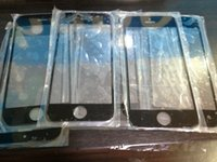 Cheap 500pcs Replacement LCD Front Touch Screen Glass Outer Lens + Opening Tools for iPhone 5 5G 5S 5C Black