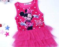 baby minnie ribbon - 2015 New Summer Girls Dress Tutu Princess Baby Minnie Dress Dot Baby Casual Paty Dress for Years Kid Dress