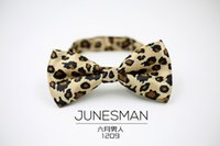 Wholesale June shipping men dress color silk tie married groom leopard send the leisure and business gift b300