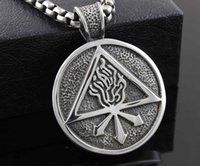 alchemy gothic pendant necklace - New Alchemy Gothic Perfect Red King Fire Flame Pendant Necklace