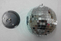 abc party - cm clear glass rotating mirror ball quot disco DJ party lighting with AC V or v mirror ball motor ABC MB cm Motor