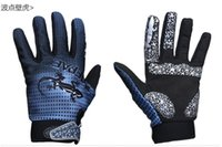 anti vibration gloves - QEPAE Sport Glove Outdoor Motorcycle Glove Breathable Anti slipery Anti Vibration Anti impact Glove Mesh Back Synthetic Leather