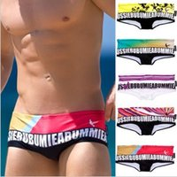 Cheap 2014 New Arrival Aussie brand mens swimming trunks fashion sexy for swimwear swim vs bathing wear shorts Swimsuit Boys sunga
