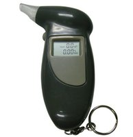 Wholesale CACT New Arrive Key Chain Alcohol Tester Alcohol Breath Analyzer Digital Breathalyzer